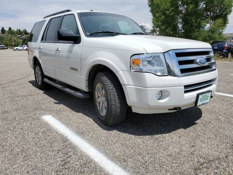 2008 Ford Expedition for sale at HIGH COUNTRY MOTORS in Granby CO