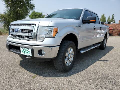 2013 Ford F-150 for sale at HIGH COUNTRY MOTORS in Granby CO