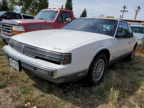 1988 Oldsmobile Toronado for sale at HIGH COUNTRY MOTORS in Granby CO