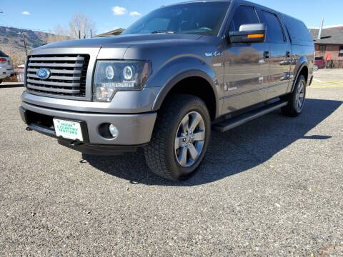2012 Ford F-150 for sale at HIGH COUNTRY MOTORS in Granby CO