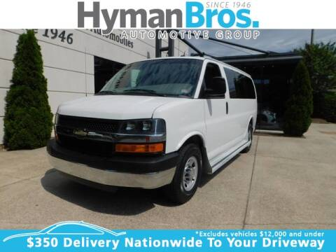 2013 Chevrolet Express Passenger LT 2500 for sale at HYMAN BROS. AUTOMOBILES WEST BROAD in Richmond VA