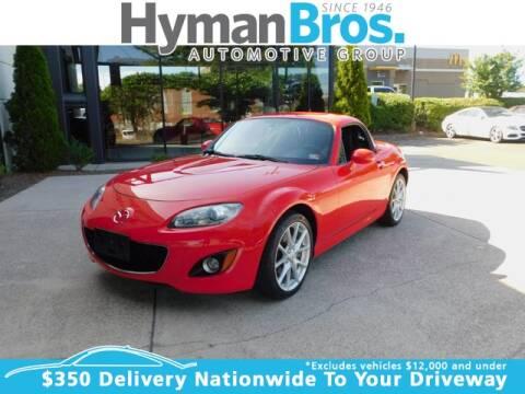 2010 Mazda MX-5 Miata for sale at HYMAN BROS. AUTOMOBILES WEST BROAD in Richmond VA