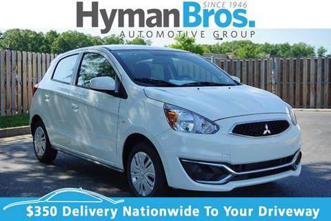 mirage in cvt de il veh elgin hatchback contact mitsubishi triangle