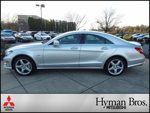 2012 Mercedes-Benz CLS for sale in Midlothian, VA