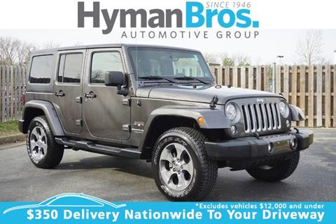 2018 Jeep Wrangler Unlimited for sale in Midlothian, VA