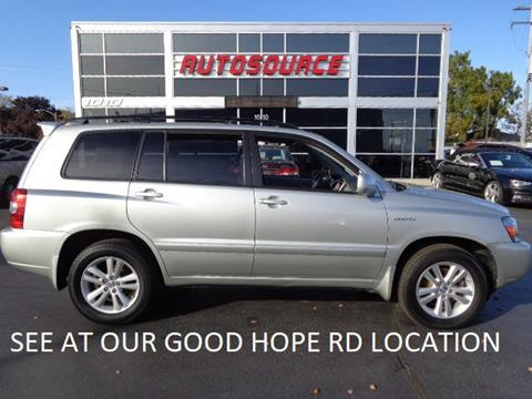 2006 Toyota Highlander Hybrid for sale in Milwaukee, WI