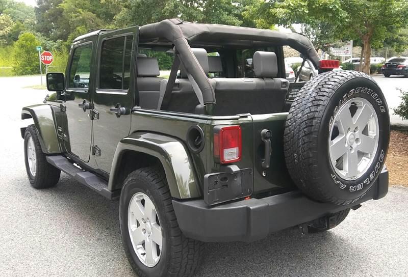 2007 Jeep Wrangler Unlimited Sahara 4dr SUV - Aiken SC