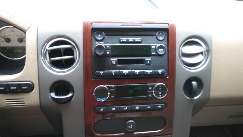 2008 Ford F-150 4x2 Lariat 4dr SuperCrew Styleside 5.5 ft. SB - Aiken SC