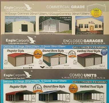 2015 Eagle Carports