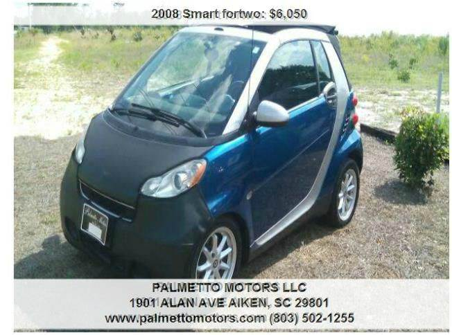 2008 Smart fortwo passion cabrio 2dr Convertible - Aiken SC