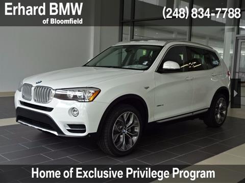 2017 BMW X3 for sale in Bloomfield Hills, MI