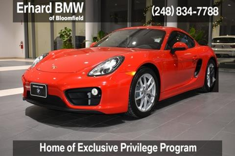 2016 Porsche Cayman for sale in Bloomfield Hills, MI