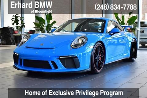 2018 Porsche 911 for sale in Bloomfield Hills, MI