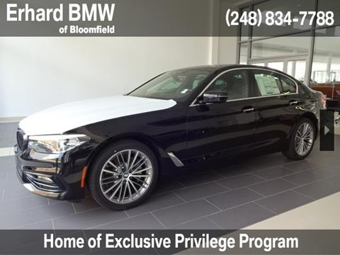 2018 BMW 5 Series for sale in Bloomfield Hills, MI
