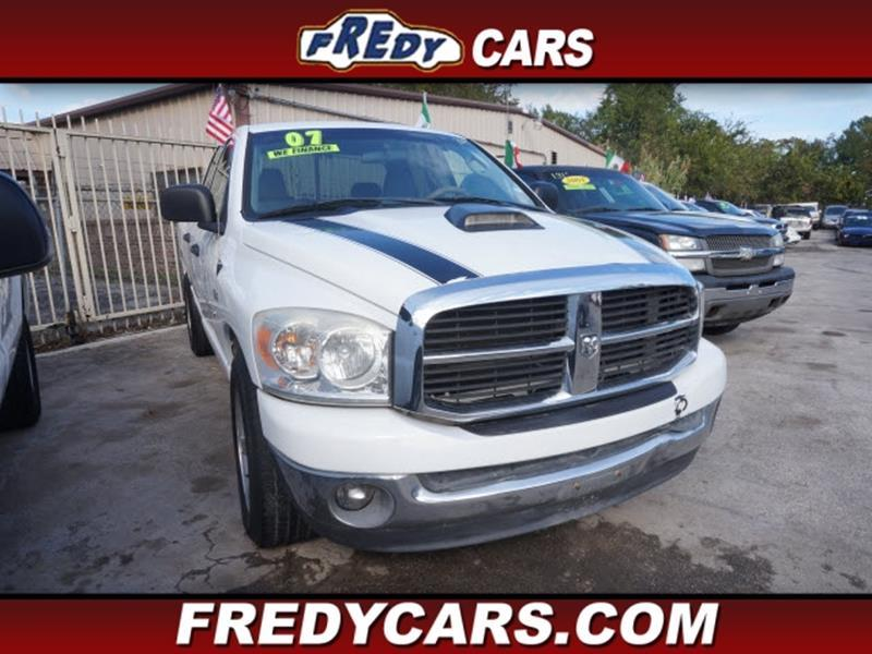 2007 dodge ram pickup 1500 in houston tx fredys cars for less. Black Bedroom Furniture Sets. Home Design Ideas