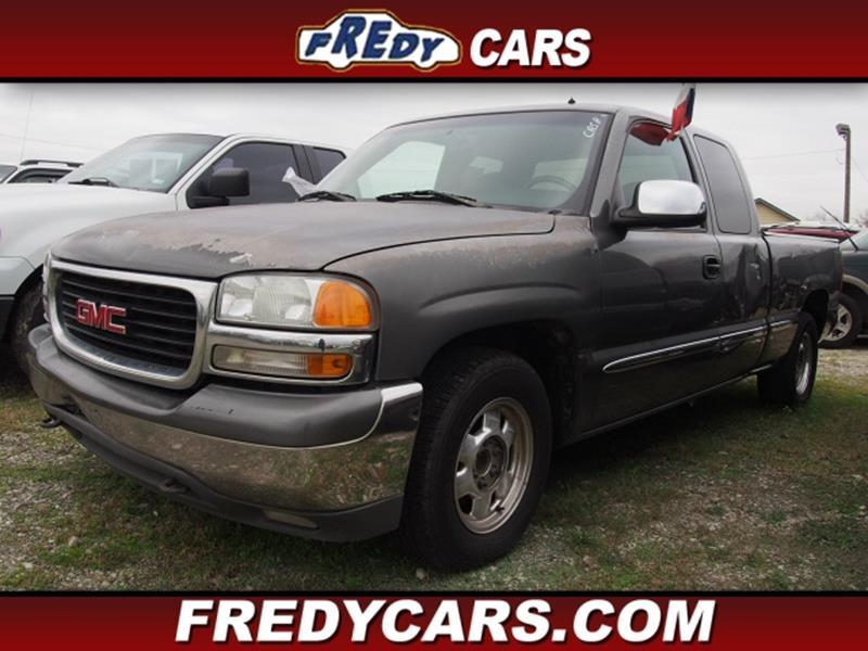 2001 gmc sierra 1500 in houston tx fredys cars for less. Black Bedroom Furniture Sets. Home Design Ideas