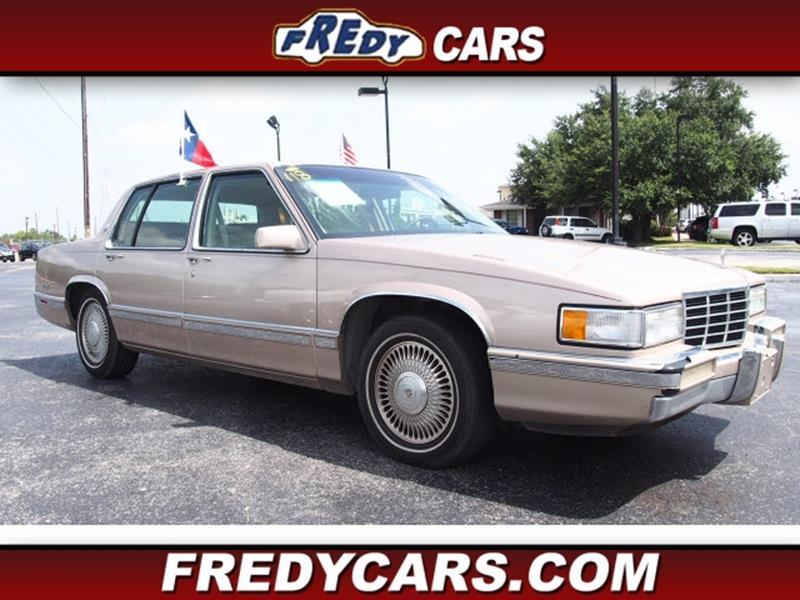 1993 Cadillac DeVille In Houston TX - FREDYS CARS FOR LESS