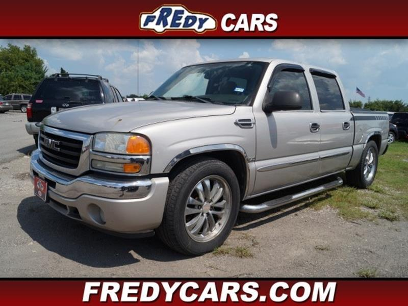 2005 gmc sierra 1500 slt in houston tx fredys cars for less. Black Bedroom Furniture Sets. Home Design Ideas