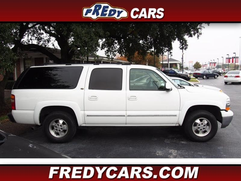 2002 chevrolet suburban 1500 lt in houston tx fredys cars for less. Black Bedroom Furniture Sets. Home Design Ideas
