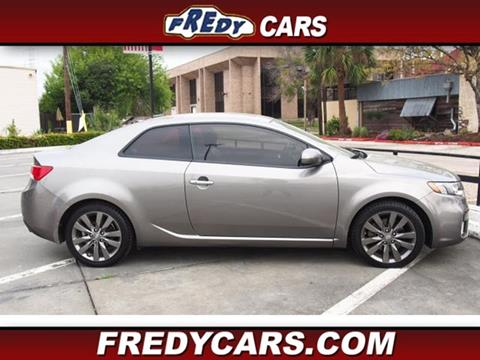 2012 Kia Forte Koup for sale at FREDYS CARS FOR LESS in Houston TX