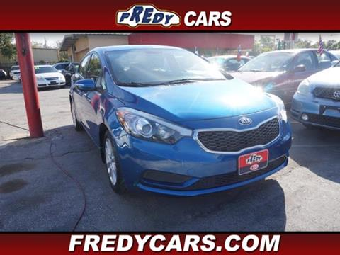 2014 Kia Forte for sale at FREDYS CARS FOR LESS in Houston TX