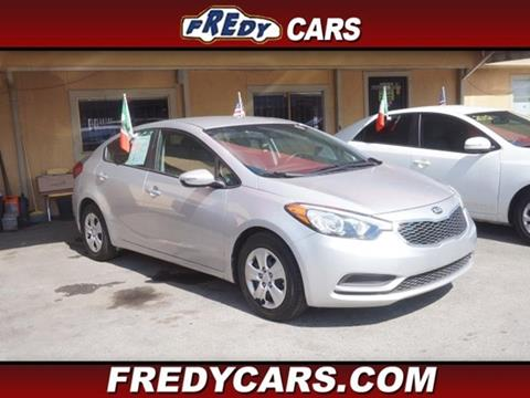 2015 Kia Forte for sale at FREDYS CARS FOR LESS in Houston TX