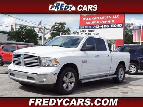 2015 RAM Ram Pickup 1500 for sale at FREDYS CARS FOR LESS in Houston TX