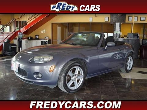 2007 Mazda MX-5 Miata for sale at FREDYS CARS FOR LESS in Houston TX