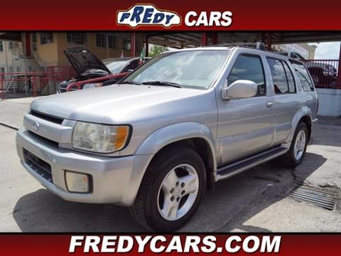 2002 Infiniti QX4 for sale at FREDYS CARS FOR LESS in Houston TX