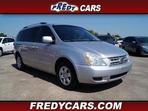 2010 Kia Sedona for sale at FREDYS CARS FOR LESS in Houston TX