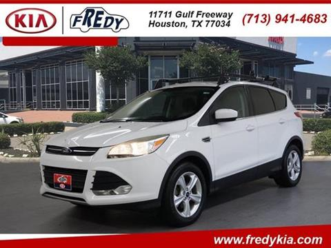 2013 Ford Escape for sale at FREDYS CARS FOR LESS in Houston TX