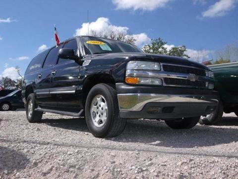 2004 Chevrolet Suburban for sale at FREDYS CARS FOR LESS in Houston TX