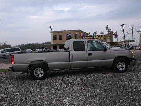 2003 Chevrolet Silverado 1500 for sale at FREDYS CARS FOR LESS in Houston TX