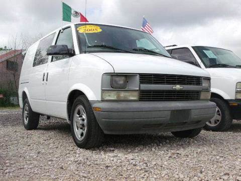 2005 Chevrolet Astro Cargo for sale at FREDYS CARS FOR LESS in Houston TX