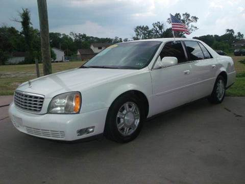 2004 Cadillac DeVille for sale at FREDYS CARS FOR LESS in Houston TX