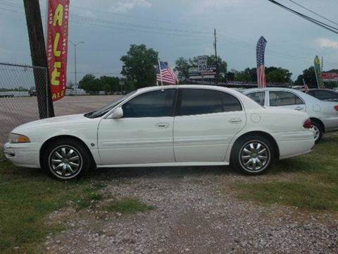 2005 Buick LeSabre for sale at FREDYS CARS FOR LESS in Houston TX