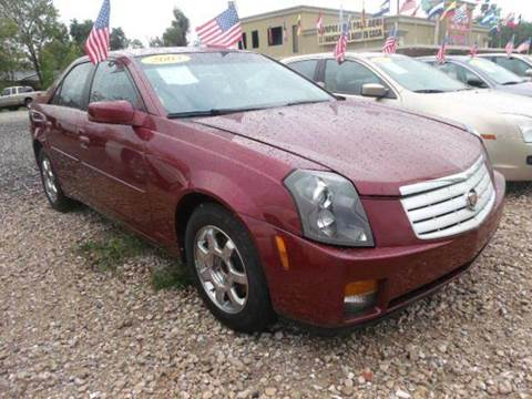 2003 Cadillac CTS for sale at FREDYS CARS FOR LESS in Houston TX