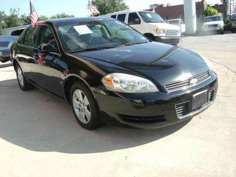 2008 Chevrolet Impala for sale at FREDYS CARS FOR LESS in Houston TX