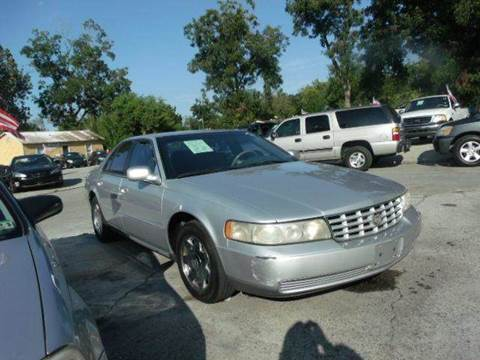 2000 Cadillac Seville for sale at FREDYS CARS FOR LESS in Houston TX