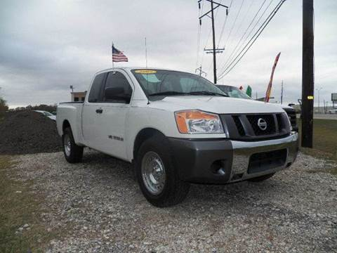 2008 Nissan Titan for sale at FREDYS CARS FOR LESS in Houston TX