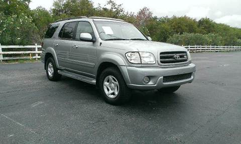 2002 Toyota Sequoia for sale at FREDYS CARS FOR LESS in Houston TX