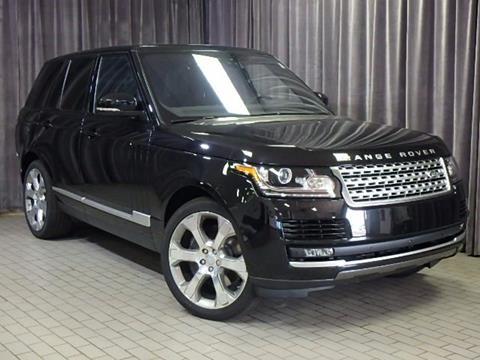 2017 Land Rover Range Rover for sale in Farmington Hills, MI