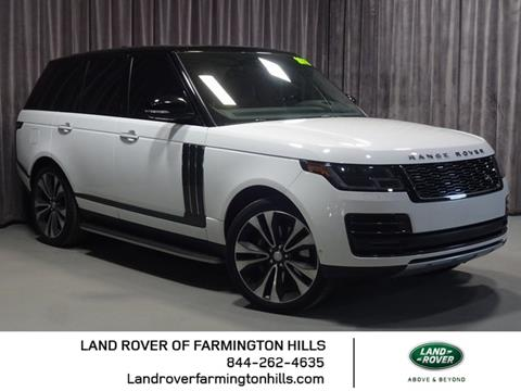 2018 Land Rover Range Rover for sale in Farmington Hills, MI