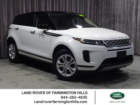 2020 Land Rover Range Rover Evoque for sale in Farmington Hills, MI