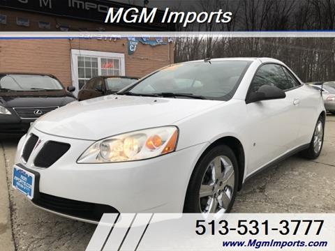 2009 Pontiac G6 for sale in Cincannati, OH