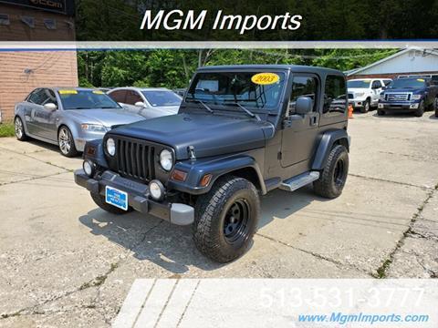 2003 Jeep Wrangler for sale in Loveland, OH