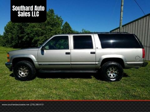 1999 chevrolet suburban for sale carsforsale com rh carsforsale com 1998 Chevrolet Suburban Black 1999 Chevrolet Suburban
