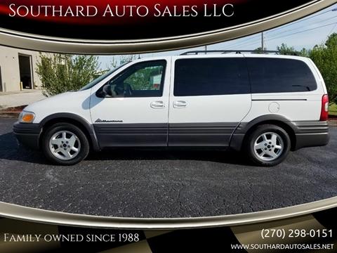 2002 Pontiac Montana for sale in Hartford, KY
