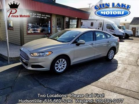 2015 Ford Fusion for sale in Hudsonville, MI