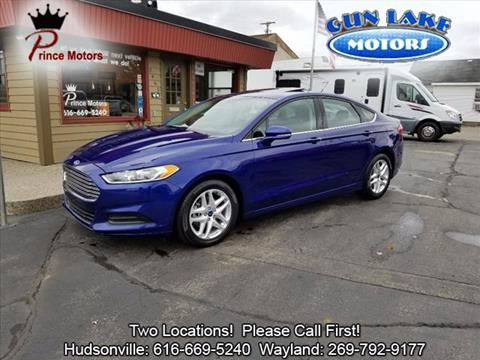 2016 Ford Fusion for sale in Hudsonville, MI